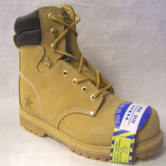 Other - STEEL TOE 8' TALL Leather  Workboots